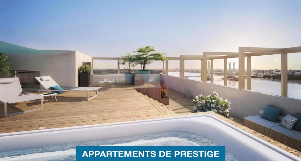 Programme L'AUTRE RIVE - Appartements de Prestige - BORDEAUX